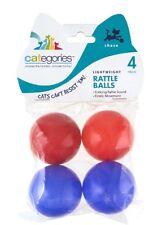 SET OF 64 ** Cat-EGORIES ** Cat Rattle Erratic Balls [ 16 x Pack of 4 ]