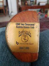 """Louisville Golf Earthwoods CBMC Hanover C.C. Putter 35.5"""" John 14: 6,7"""