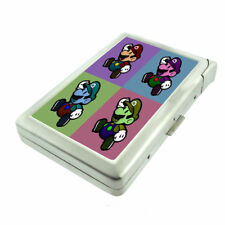 Pop Art D8 Cigarette Case with Built in Lighter Metal Wallet Pop Culture