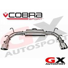 MZ05 Cobra Sport Mazda MX5 NC 05-14 Rear Exhaust Race Type - Louder