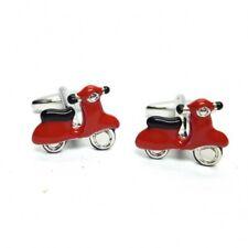 Rétro 50s/60s Scooter Mod Boutons Manchette Neuf avec Étiquette / Boite Cadeau