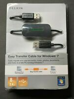 Belkin Easy Transfer Cable For Windows 7 BRAND NEW SEALED