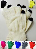 Handschuhe Damen Herren Touchscreen Handy Tablet Smartphone Winterhandschuhe Neu