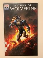 Return of Wolverine #1 Variant Cover by Clayton Crain NM Ltd to 3000 Copies