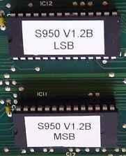 AKAI S950 Sampler V1.2B OS Upgrade EPROMS