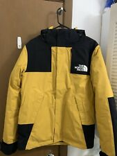 The North Face Mountain Parka Yellow Size Small