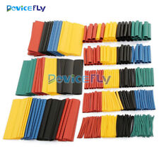 328 Pcs Assorted 8 Sizes Heat Shrink Tube 5 Color Polyolefin Wrap Sleeve Set 2:1