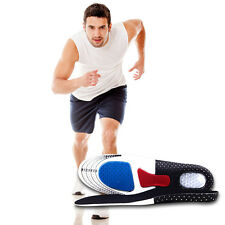 Man Gel Orthotic Sport Running Insoles Insert Shoe Pad Arch Support Heel Cushion