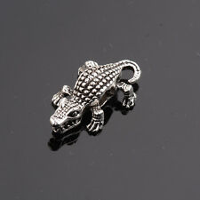 10 Pcs/set DIY Crocodile Head Beaded For Bracelets Connector Beads Charm Beads