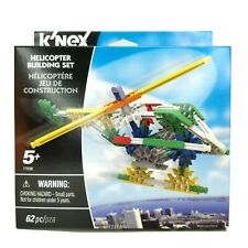 Knex Helicopter Building Fun Toy Set 62 Pieces
