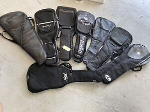 Lot of Electric Guitar Gig Bags Soft Cases