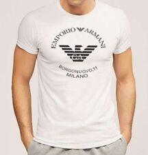 ARMANI Short Sleeve Slim Fit T-Shirts for Men
