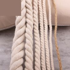 Rope String Cord Twine Sash Craft 5mm-20mm Cotton Thick Cords Three Twisted Rope