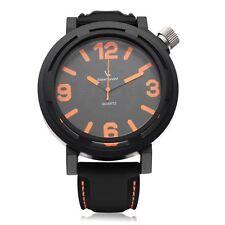 V6 V0051 Super Speed Sport Big Dial Men Quartz Wrist Watch