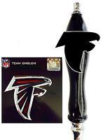 Atlanta Falcons Football nfl Emblem & Beer Tap Handle for Kegerator Faucet KIT