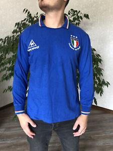 ITALY Le Coq Sportif 1982 World Cup Jersey Trikot Campione del Mondo Shirt Rare