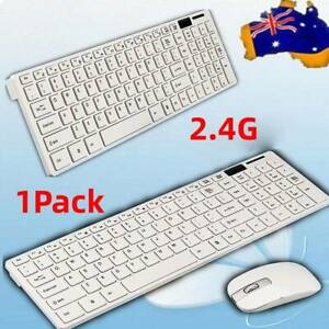 Wireless Keyboard and Cordless Optical Mouse for PC Laptop Windows 7/ 8 / XP
