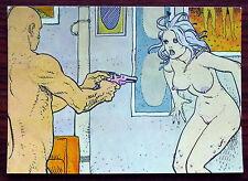 Carte postale Long Tomorrow Moebius,humanoides associés,  postcard