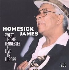 Sweet Home Tennessee/Live in Europe * by Homesick James Williamson (CD, Nov-2009, 2 Discs, SuperBird)
