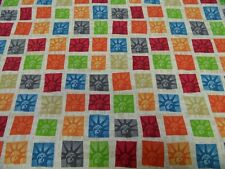 Tela Patchwork - All Over - de Makower 50 x 110cm BW multicolor C.motivos