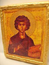 Saint Pantaleon Panteleimon IKONA IKONE Byzantine Eastern Orthodox Icon Art