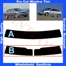 Pre Cut Window Tint Sunstrip for Opel Vectra C 5 Doors Hatch 2003-2009 Any Shade