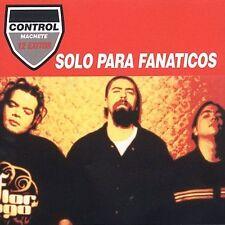 New: CONTROL MACHETE - Solo Para Fanaticos - CD