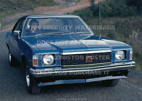 HOLDEN HJ MONARO GTS 4 DOOR A3 POSTER PRINT PICTURE IMAGE PHOTO