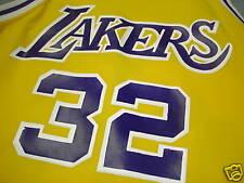Vintage 80's MAGIC JOHNSON L A Lakers Jersey L Sandknit
