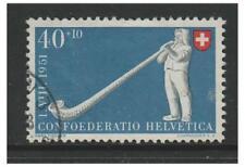 Switzerland - 1951, 40c + 10c National Fete stamp - F/U - SG 531