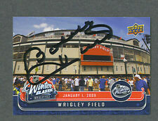 Bobby Hull signed Winter Classic Wrigley Field card