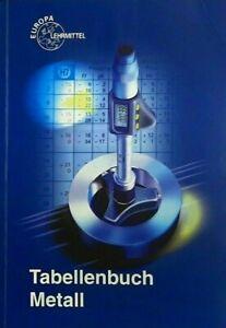 Tabellenbuch Metall   mit Formelsammlung   44. Auflage Buch Europa Lehrmittel