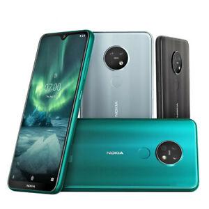 "Original Nokia 7.2 Unlocked 4G 64/128GB Cellphone 6.3"" 48MP Triple Camera Dual"