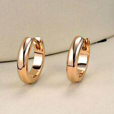 "14k Yellow Gold Filled - 1/2"" - Smooth Huggie Hoop Earrings - Gift Boxed"