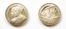 JOHN PINCHES GEORGE V & QUEEN MARY SILVER PROOF MEDAL - 1911 CORONATION