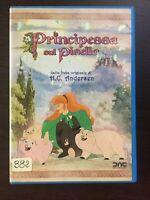 Dvd Raro La principessa sul pisello Fuori catalogo OTTIME CONDIZIONI HG ANDERSON