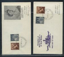 Western Samoa and Cook Islands 1953 coronation covers