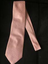 """Men's Pink Striped Silk 4"""" Tie"""