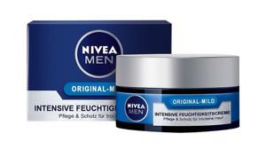 Nivea Face Cream Moisturising Men Original Mild Intensive Hydration Skin 50 ml