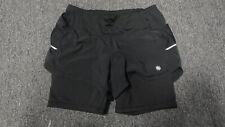 ATHLETA Black Elastic Waist Solid Lined Casual Athletic Shorts Sz XS GG1615