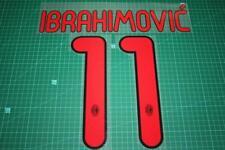 AC Milan 11/12 #11 IBRAHIMOVIC Awaykit Nameset Printing