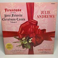Julie Andrews - Your Favorite Christmas Carols: Firestone 1966 Vinyl (Religious)