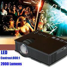 UC40+ 2000 lumens 1080P hd home cinéma led cinéma projecteur 3D hdmi wifi tv usb