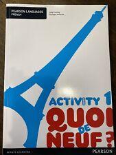 French Activity 1 Book: Quoi de Neuf? By J Comley & P Vallantin