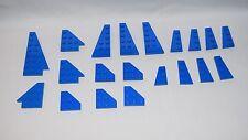 Lego Parts 54383 54384 2450 41769 41770 43723 Blue Wedge Plates  LOT 20   #LX388