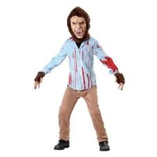 NEW BOYS TOTALLY GHOUL TEEN WOLF HALLOWEEN COSTUME SIZE MEDIUM M SIZE AGES 3+