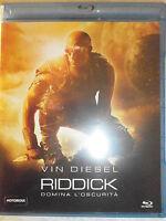 RIDDICK FILM IN BLU-RAY NUOVO DA NEGOZIO - INCELLOFANATO - COMPRO FUMETTI SHOP