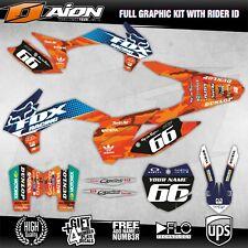 KTM SX SXF XC XCF 125 150 250 350 450 2013 2014 Decals kit AION MX Graphics kits