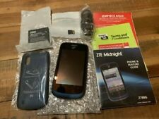 ZTE Midnight Straight Talk Prepaid No Contract Z768G Smartphone