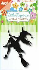 Joy!Crafts, Clear Stamp,  Flying witch, fliegende Hexe, 0484